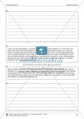 Schreibtraining Erlebniserzählung: Kompetenzstufe C: Arbeitsblätter mit Lösungen Preview 4