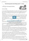 Schreibtraining Erlebniserzählung: Kompetenzstufe B: Arbeitsblätter mit Lösungen Preview 7