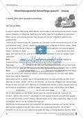 Schreibtraining Erlebniserzählung: Kompetenzstufe B: Arbeitsblätter mit Lösungen Preview 9