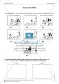 Schreibtraining Bildergeschichte: Kompetenzstufe C:  Arbeitsblätter mit Lösungen Preview 1
