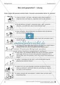 Schreibtraining Bildergeschichte: Kompetenzstufe C:  Arbeitsblätter mit Lösungen Preview 6