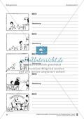 Schreibtraining Bildergeschichte: Kompetenzstufe C:  Arbeitsblätter mit Lösungen Preview 8