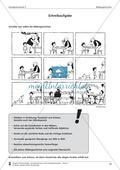 Schreibtraining Bildergeschichte: Kompetenzstufe C:  Arbeitsblätter mit Lösungen Preview 9