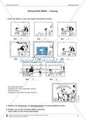 Schreibtraining Bildergeschichte: Kompetenzstufe B:  Arbeitsblätter mit Lösungen Preview 2