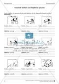 Schreibtraining Bildergeschichte: Kompetenzstufe B:  Arbeitsblätter mit Lösungen Preview 3