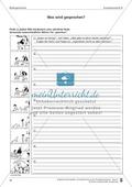 Schreibtraining Bildergeschichte: Kompetenzstufe B:  Arbeitsblätter mit Lösungen Preview 7