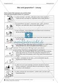 Schreibtraining Bildergeschichte: Kompetenzstufe B:  Arbeitsblätter mit Lösungen Preview 8