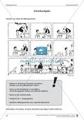 Schreibtraining Bildergeschichte: Kompetenzstufe B:  Arbeitsblätter mit Lösungen Preview 9