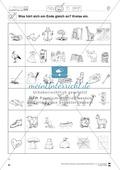 Auslaute: Einkreisen: Übungsblätter Preview 3