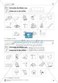 Auslaute: Schneiden und Kleben: Übungsblätter Preview 4