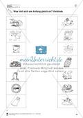 Deutsch, Sprache, Sprachbewusstsein, Grammatik, Phonologische Bewusstheit, Wortbildung, Vokale, Anlaute