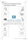 Anlaute Vokale: Verbinden: Übungsblätter Preview 4