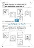 Anlaute Vokale: Rahmen ausmalen: Übungsblätter Preview 10