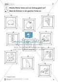 Anlaute Vokale: Rahmen ausmalen: Übungsblätter Preview 7