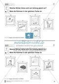 Anlaute Vokale: Rahmen ausmalen: Übungsblätter Preview 9
