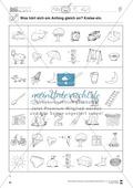 Anlaute Konsonanten: Einkreisen: Übungsblätter Preview 1