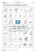 Anlaute Konsonanten: Einkreisen: Übungsblätter Preview 2