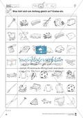 Anlaute Konsonanten: Einkreisen: Übungsblätter Preview 3