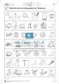 Anlaute Konsonanten: Einkreisen: Übungsblätter Preview 6