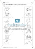 Anlaute Konsonanten: Verbinden: Übungsblätter Preview 1
