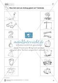 Anlaute Konsonanten: Verbinden: Übungsblätter Preview 7