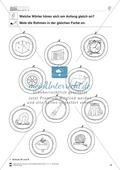 Anlaute Konsonanten: zwei Anlaute: Rahmen ausmalen: Übungsblätter Preview 4