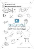 Inlaute Vokale: Einkreisen: Übungsblätter Preview 2
