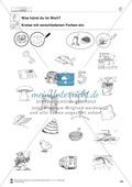 Inlaute Vokale: Einkreisen: Übungsblätter Preview 5
