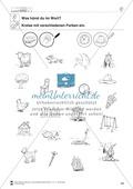 Inlaute Vokale: Einkreisen: Übungsblätter Preview 7