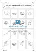 Vokallänge im Inlaut: Übungsblätter Preview 4
