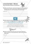 Unterschiede zwischen Fabeln und Märchen: Übungen Thumbnail 0