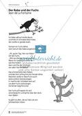 Deutsch, Literatur, Fiktionale Texte, Umgang mit fiktionalen Texten, Epik, Analyse fiktionaler Texte, Gattungen, Fabeln