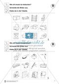 Silben: Klatschtabelle B und Arbeitsblätter Preview 3