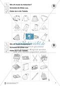Silben: Klatschtabelle B und Arbeitsblätter Preview 4