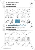 Klatschtabellen und Arbeitsblätter Preview 5