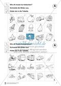 Silben: Klatschtabelle A und Arbeitsblätter Preview 2