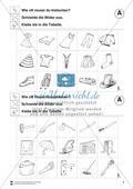 Silben: Klatschtabelle A und Arbeitsblätter Preview 4