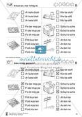Leseförderung Wortebene: Schwierigkeitsgrad 5: Lesekartei mit Arbeitsblättern und Lösungen Preview 9