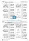 Leseförderung Wortebene: Schwierigkeitsgrad 3/4: Lesekartei mit Arbeisblättern und Lösungen Thumbnail 16
