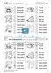 Leseförderung Wortebene: Schwierigkeitsgrad 3/4: Lesekartei mit Arbeisblättern und Lösungen Thumbnail 22