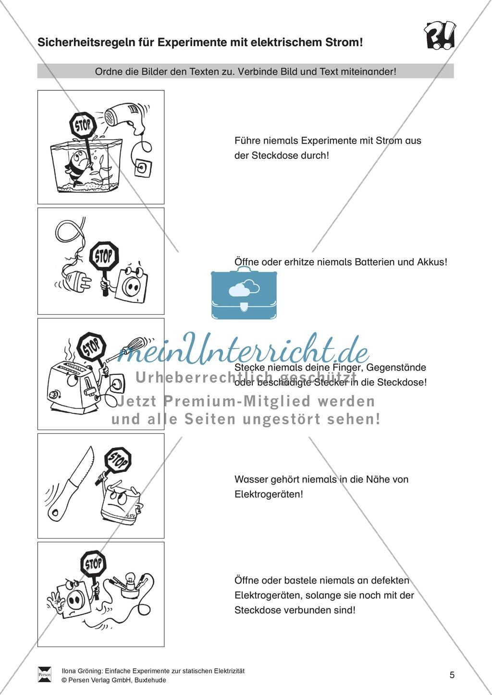 Nett Strom Arbeitsblatt Für Schüler Zeitgenössisch - Mathe ...