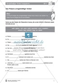 Deutsch als Zweitsprache (DaZ) - Grundfertigkeiten Grammatik: Unregelmäßige Verben konjugieren: