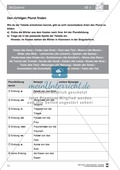 Deutsch, Sprache, Didaktik, Grammatik, Rechtschreibung und Zeichensetzung, Sprachbewusstsein, Unterrichtsmethoden, Wortarten, Richtig Schreiben, Lösung für Lehrer, Numerus, Pluralformen Nomen, Pluralendungen, Deklinieren, daz/daf material