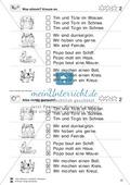 Leseübungen Satzebene: Übungen Satz-Bild-Zuordnung mit Lösungen Fortgeschrittene schwer gesamt Preview 2