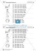 Leseübungen Satzebene: Übungen Satz-Bild-Zuordnung mit Lösungen Fortgeschrittene schwer gesamt Preview 4