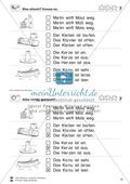 Leseübungen Satzebene: Übungen Satz-Bild-Zuordnung mit Lösungen Fortgeschrittene schwer gesamt Preview 7