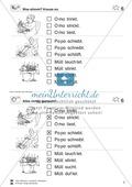 Leseübungen Satzebene: Übungen Satz-Bild-Zuordnung mit Lösungen Anfänger gesamt Preview 6