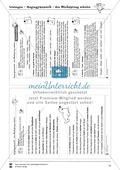 Blicksprung schulen durch Lückentexte (Hausaufgabe): Übungen + Lösungen Preview 3