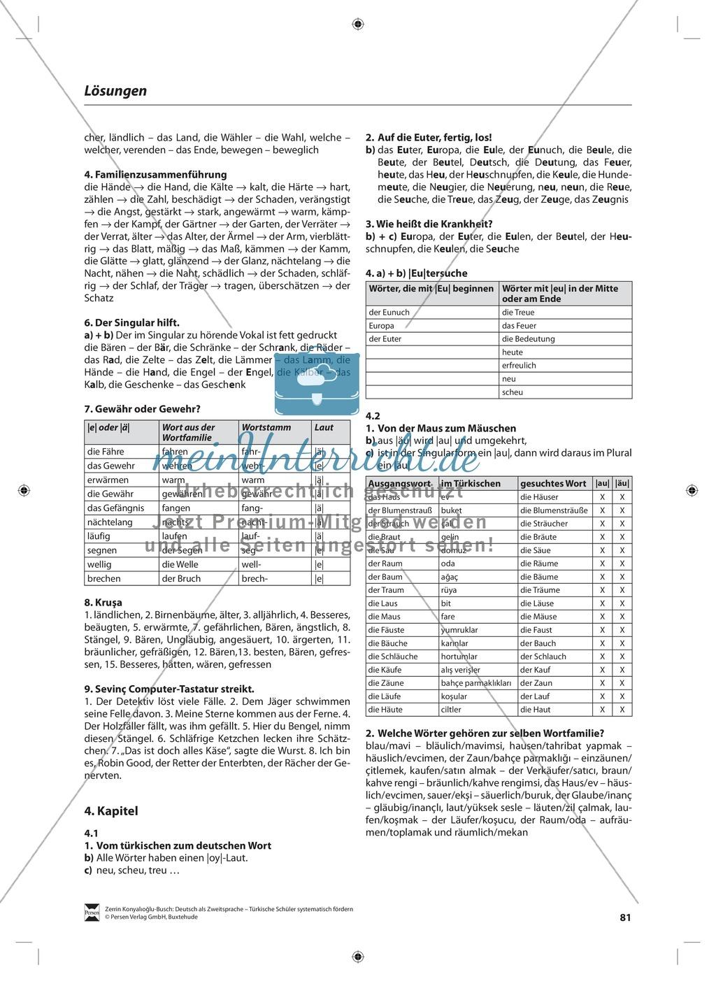"""Laut-Buchstaben-Zuordnung  """"e"""" und """"ä"""": Lehrerinformationen, Arbeitsblätter und Lösungen Preview 13"""