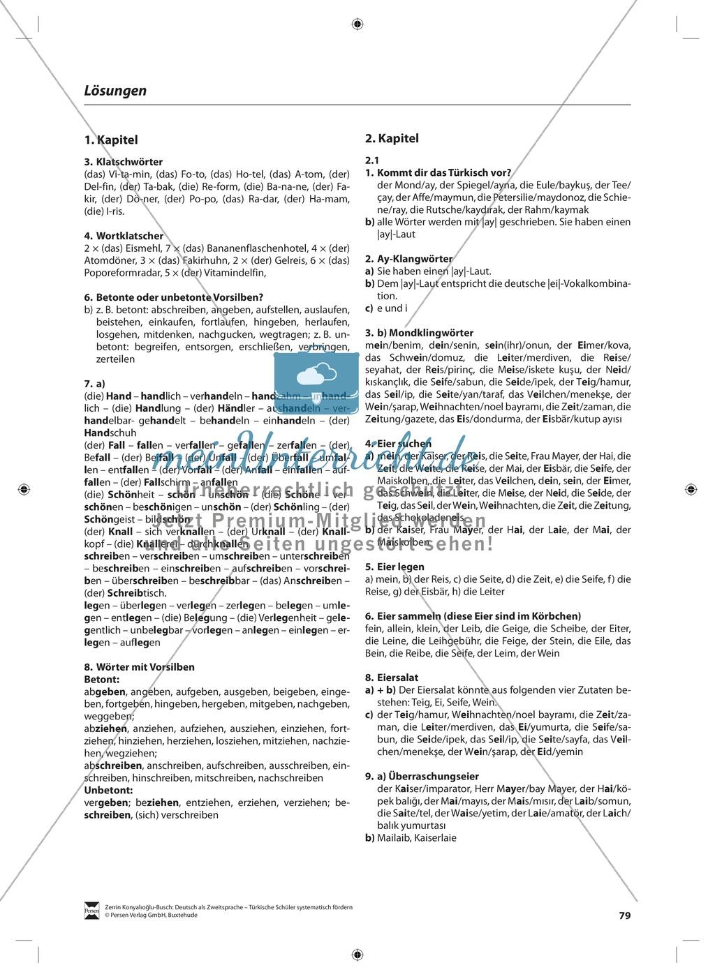 Der Diphthong: Lehrerinformationen, Arbeitsblätter und Lösungen Preview 10
